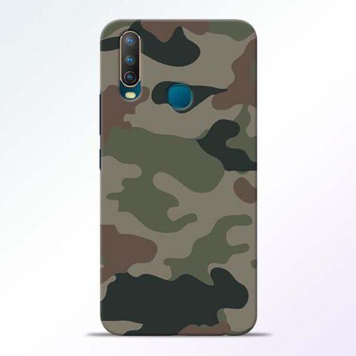Army Camouflage Vivo U10 Mobile Cover