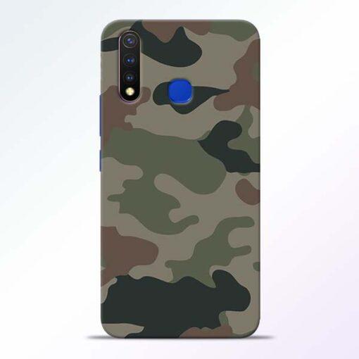 Army Camouflage Vivo U20 Mobile Cover