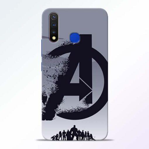 Avengers Team Vivo U20 Mobile Cover