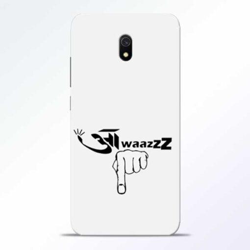 Awaaz Niche Redmi 8A Mobile Cover