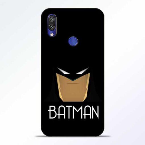 Batman Face Redmi Note 7 Pro Mobile Cover