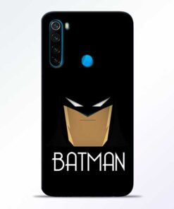Batman Face Redmi Note 8 Mobile Cover