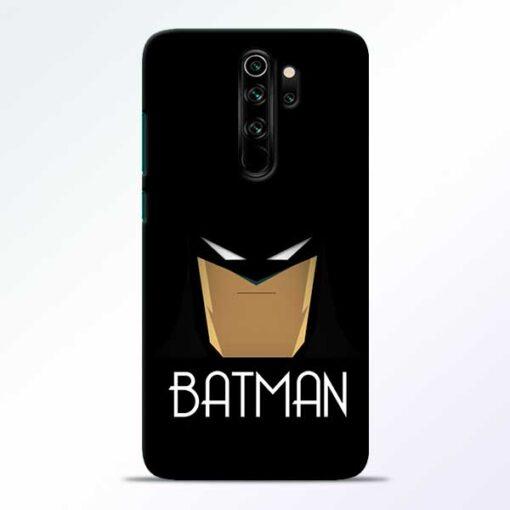 Batman Face Redmi Note 8 Pro Mobile Cover