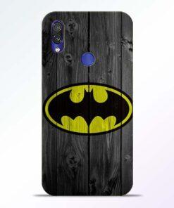 Batman Love Redmi Note 7 Pro Mobile Cover