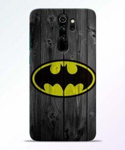 Batman Love Redmi Note 8 Pro Mobile Cover