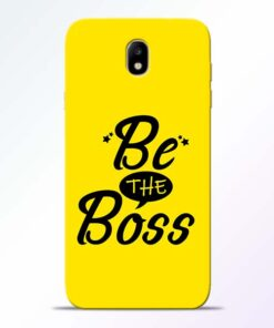 Be The Boss Samsung Galaxy J7 Pro Mobile Cover