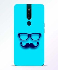 Beard Face Oppo F11 Pro Mobile Cover