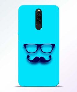Beard Face Redmi 8 Mobile Cover