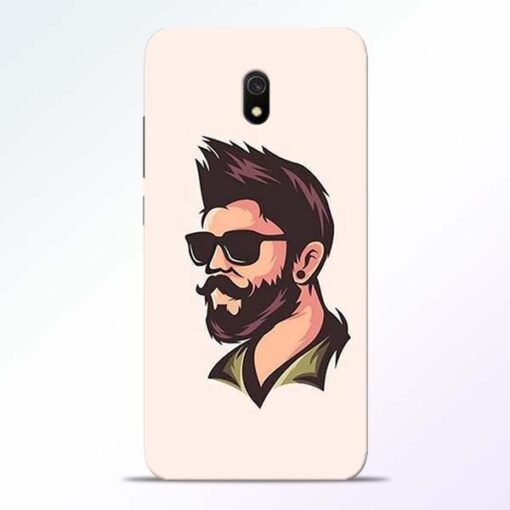 Beard Man Redmi 8A Mobile Cover