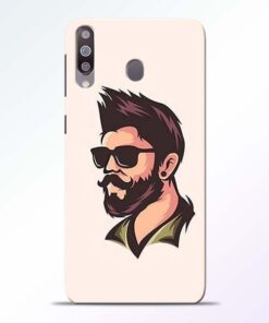 Beard Man Samsung Galaxy M30 Mobile Cover