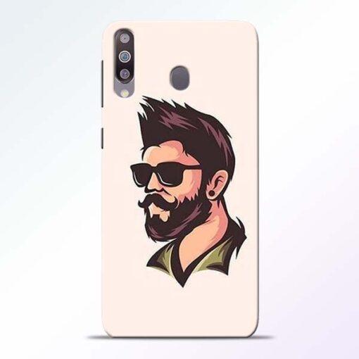 Beard Man Samsung Galaxy M30 Mobile Cover