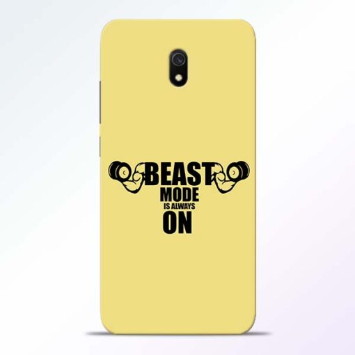 Beast Mode Redmi 8A Mobile Cover