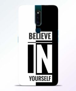 Believe Yourself Oppo F11 Pro Mobile Cover