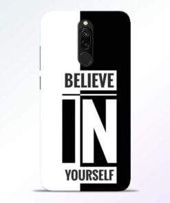 Believe Yourself Redmi 8 Mobile Cover