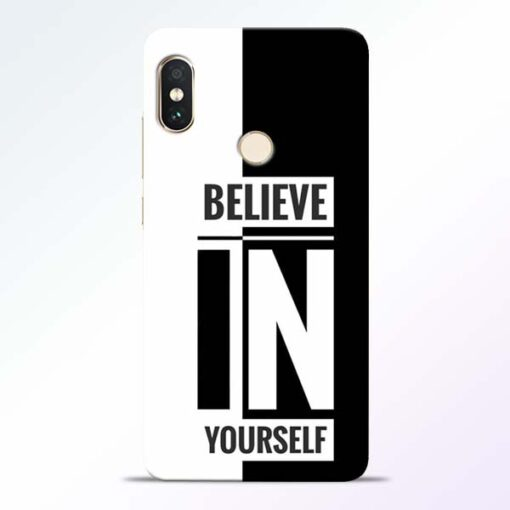 Believe Yourself Redmi Note 5 Pro Mobile Cover