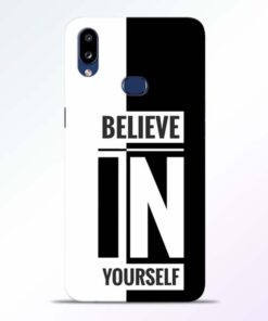 Believe Yourself Samsung Galaxy A10s Mobile Cover