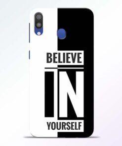 Believe Yourself Samsung Galaxy M20 Mobile Cover