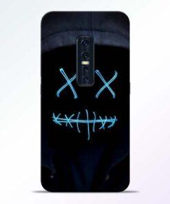 Black Marshmello Vivo V17 Pro Mobile Cover