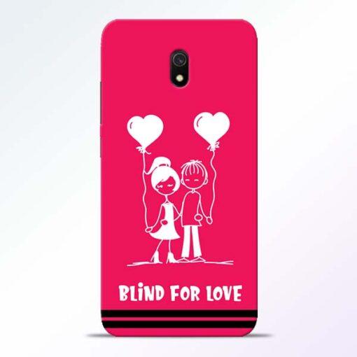 Blind Love Redmi 8A Mobile Cover