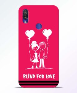 Blind Love Redmi Note 7 Pro Mobile Cover