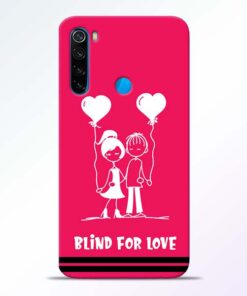Blind Love Redmi Note 8 Mobile Cover