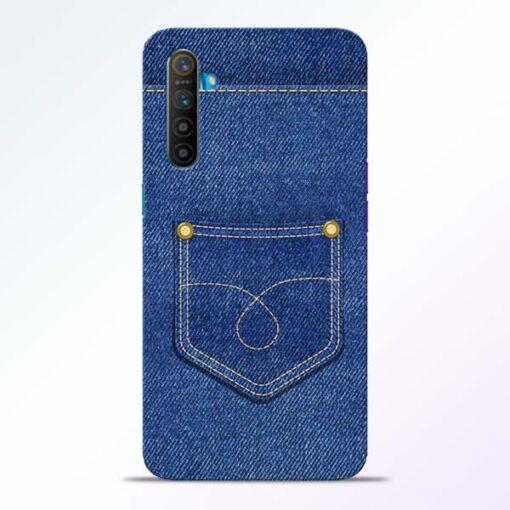 Blue Pocket Realme XT Mobile Cover