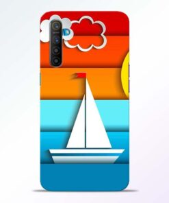 Boat Art Realme XT Mobile Cover