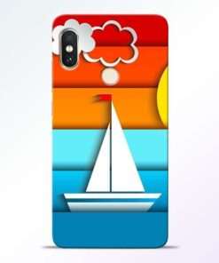 Boat Art Redmi Note 5 Pro Mobile Cover