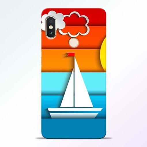 Boat Art Redmi Note 5 Pro Mobile Cover