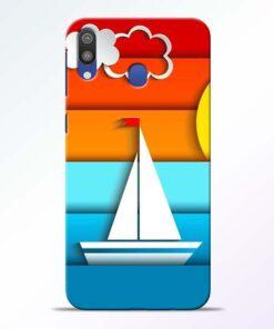 Boat Art Samsung Galaxy M20 Mobile Cover