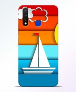Boat Art Vivo U20 Mobile Cover