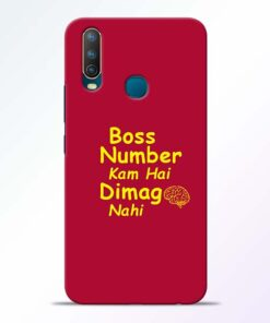 Boss Number Vivo U10 Mobile Cover