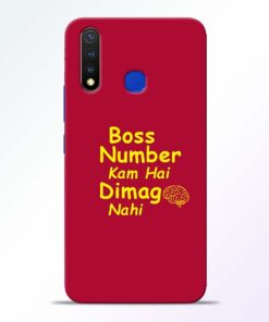 Boss Number Vivo U20 Mobile Cover