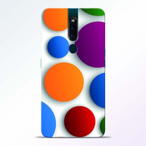 Bubble Pattern Oppo F11 Pro Mobile Cover