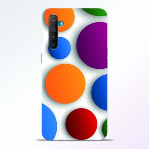 Bubble Pattern Realme XT Mobile Cover