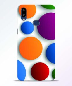 Bubble Pattern Samsung Galaxy A10s Mobile Cover