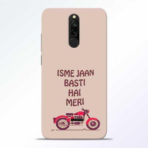 Bullet Love Redmi 8 Mobile Cover