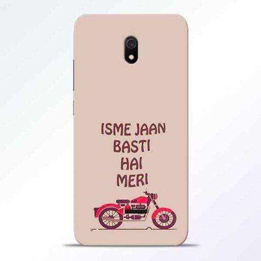 Bullet Love Redmi 8A Mobile Cover