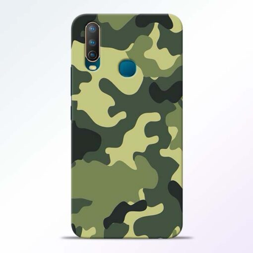 Camouflage Vivo U10 Mobile Cover