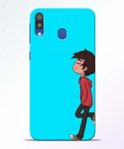 Cartoon Boy Samsung Galaxy M20 Mobile Cover