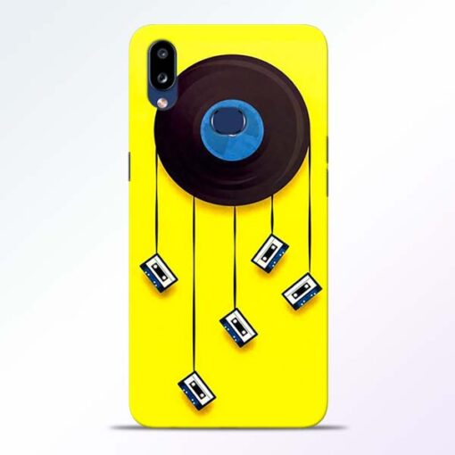 Cassette Tape Samsung Galaxy A10s Mobile Cover