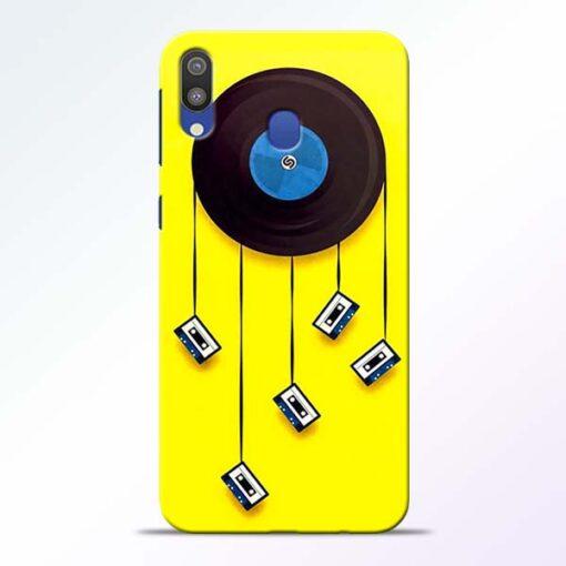 Cassette Tape Samsung Galaxy M20 Mobile Cover
