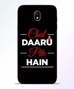 Chal Daru Pite H Samsung Galaxy J7 Pro Mobile Cover