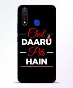 Chal Daru Pite H Vivo U20 Mobile Cover