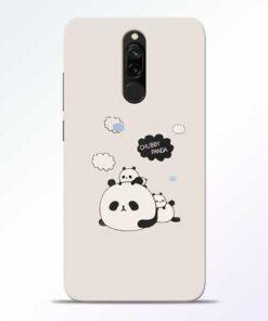 Chubby Panda Redmi 8 Mobile Cover