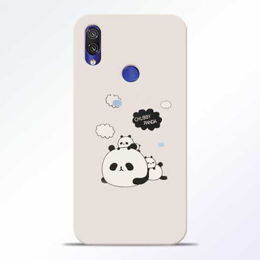 Chubby Panda Redmi Note 7 Pro Mobile Cover