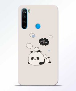 Chubby Panda Redmi Note 8 Mobile Cover