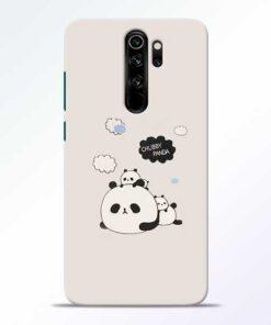 Chubby Panda Redmi Note 8 Pro Mobile Cover