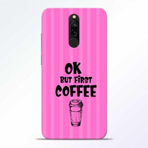 Coffee Redmi 8 Mobile Cover