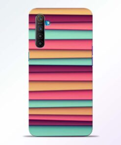 Color Stripes Realme XT Mobile Cover